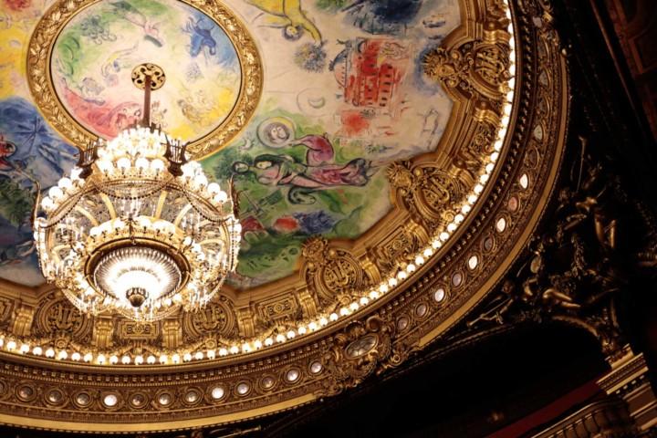 シャガールの天井画(ガルニエ・オペラ座)