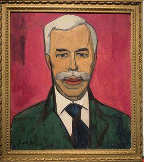 『シチューキンの肖像』by Xan Krohn 1915