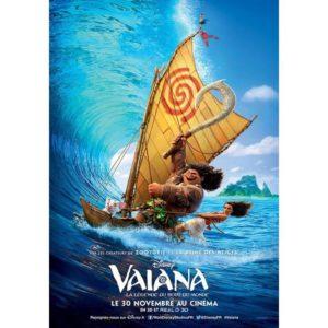 『モアナと伝説の海』2016 仏版ポスター