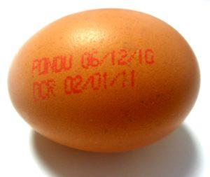 フランスの卵