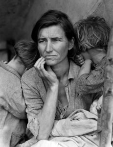 ドロテア・ラング『移民の母』(1936)
