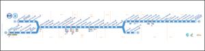 RER B線路線図