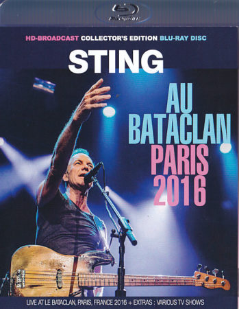 Sting au Bataclan Paris 2016